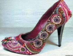 переделка обновляем декорируем туфли босоножки