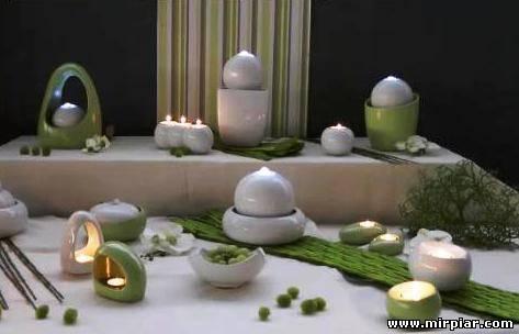 комфорт свечи в интерьере