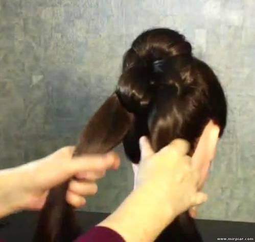 прическа для длинных волос 3