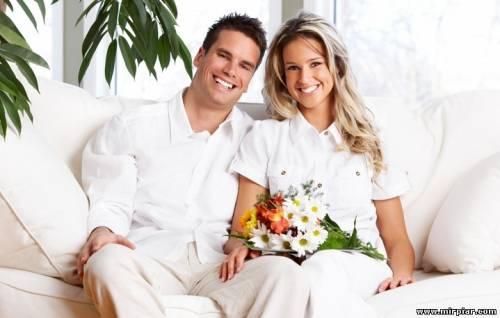 Семейное фото супругов