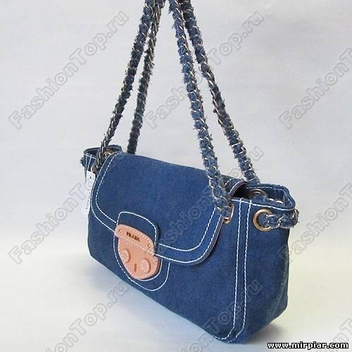Мы привыкли, что джинсовые сумки - не очень-то утонченные.  Но эта джинсовая сумка от итальянской фирмы опять ломает...