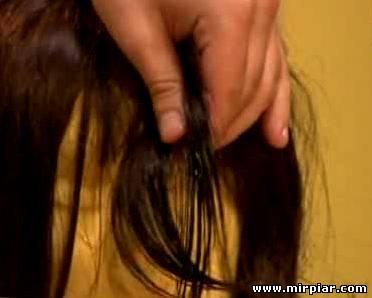 как удалить жевательную резинку из волос