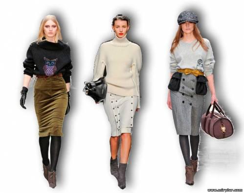 как подобрать модный свитер