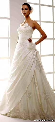 свадебные платья 2011 2012