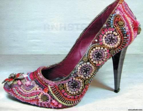 переделка декорирование обуви