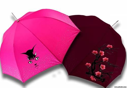 как украсить зонт