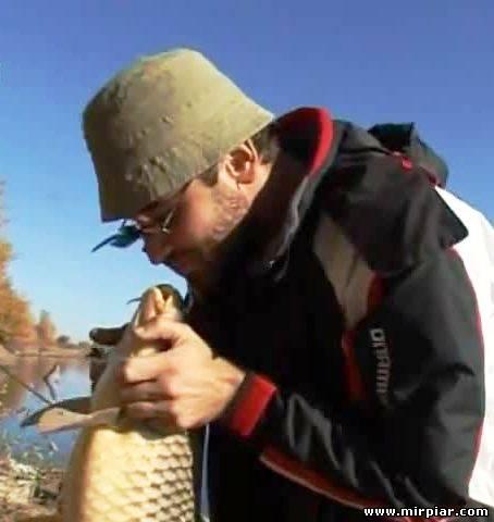 карьера и рыбалка