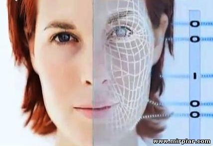 компьютерное лицо,компьютер,красота