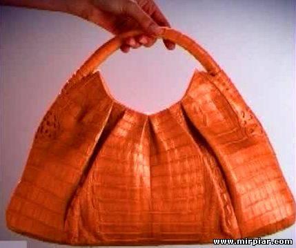 модные сумки из крокодиловой кожи