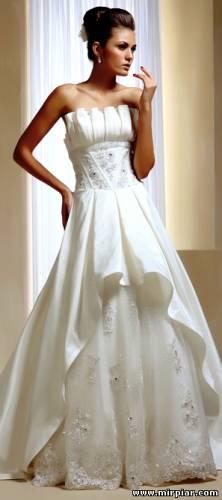 свадебное платье 2011-2012