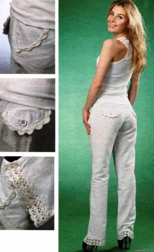 комбинируем ткань и вязание