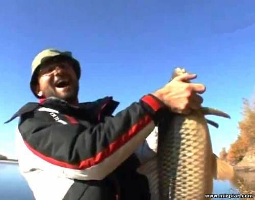 карьера на рыбалке
