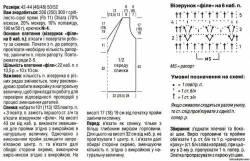 Выкройки и схемы вязания жилетов женских.