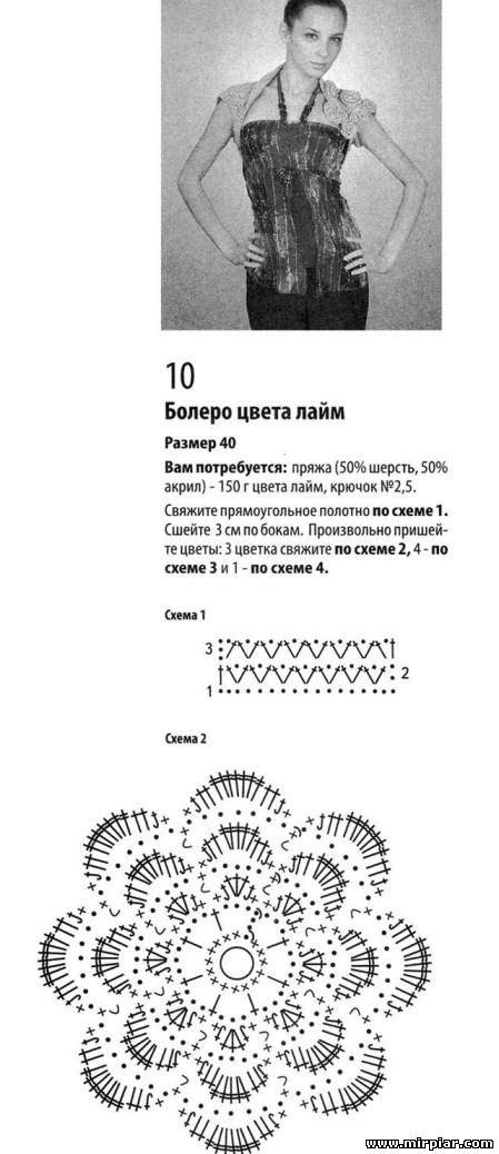 Болеро спицами Подборка   knitkaru