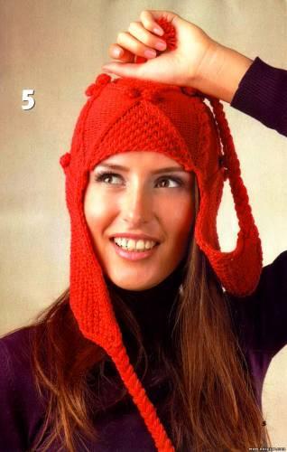 ВЯЗАНИЕ СПИЦАМИ/Шапки,шляпы,шарфы,снуд спицами (женские). more. в цитатник. url http...
