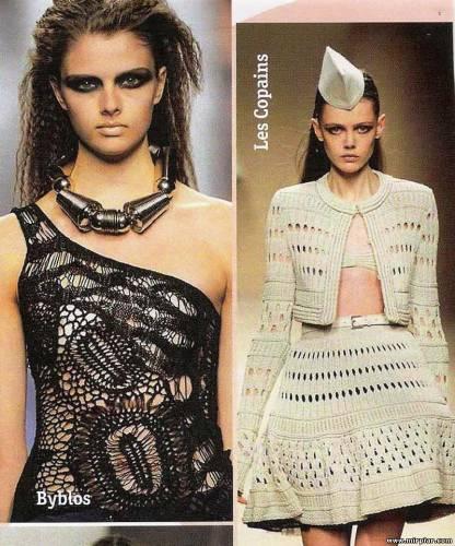 Фото мода в вязании Фотка из категорий: Фасоны