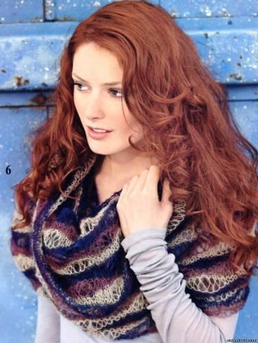 Схема вязания шарф воротник - Файловый архив 21 янв 2012.