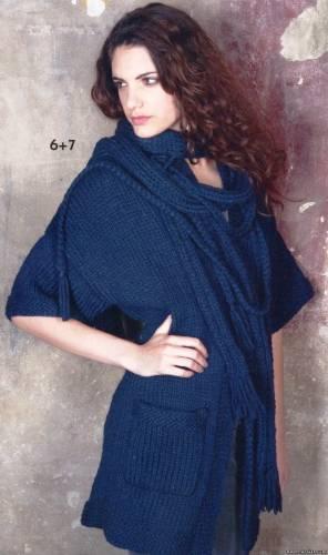 вязание спицами шарфы для женщин - Сделай сам!