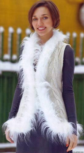вязание и мех