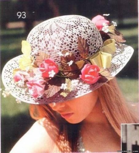 Летние вязаные шляпы и береты.  Файл 3 из 110 в альбоме. альбомы.  Загружено 1 лет назад - Ссылки - Пожаловаться на...