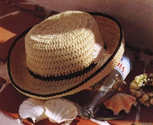 Вязаные летние шляпки. Коллекция. Обсуждение на LiveInternet