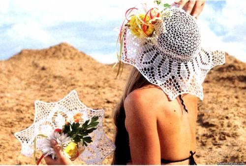Ажурная шляпка и веер - крючком Интересный сайт haveall.net для туристов и путешественников, на котором можно найти...