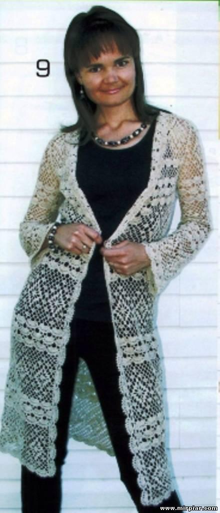 漂亮的钩针大衣(5) - 柳芯飘雪 - 柳芯飘雪的博客