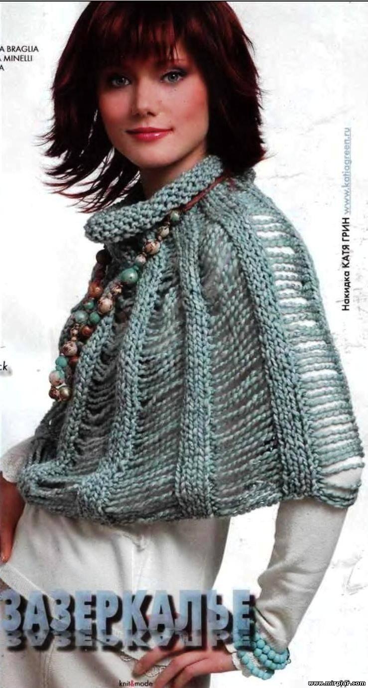 Вязание на спицах шапок - Вязание спицами, модели и схемы.