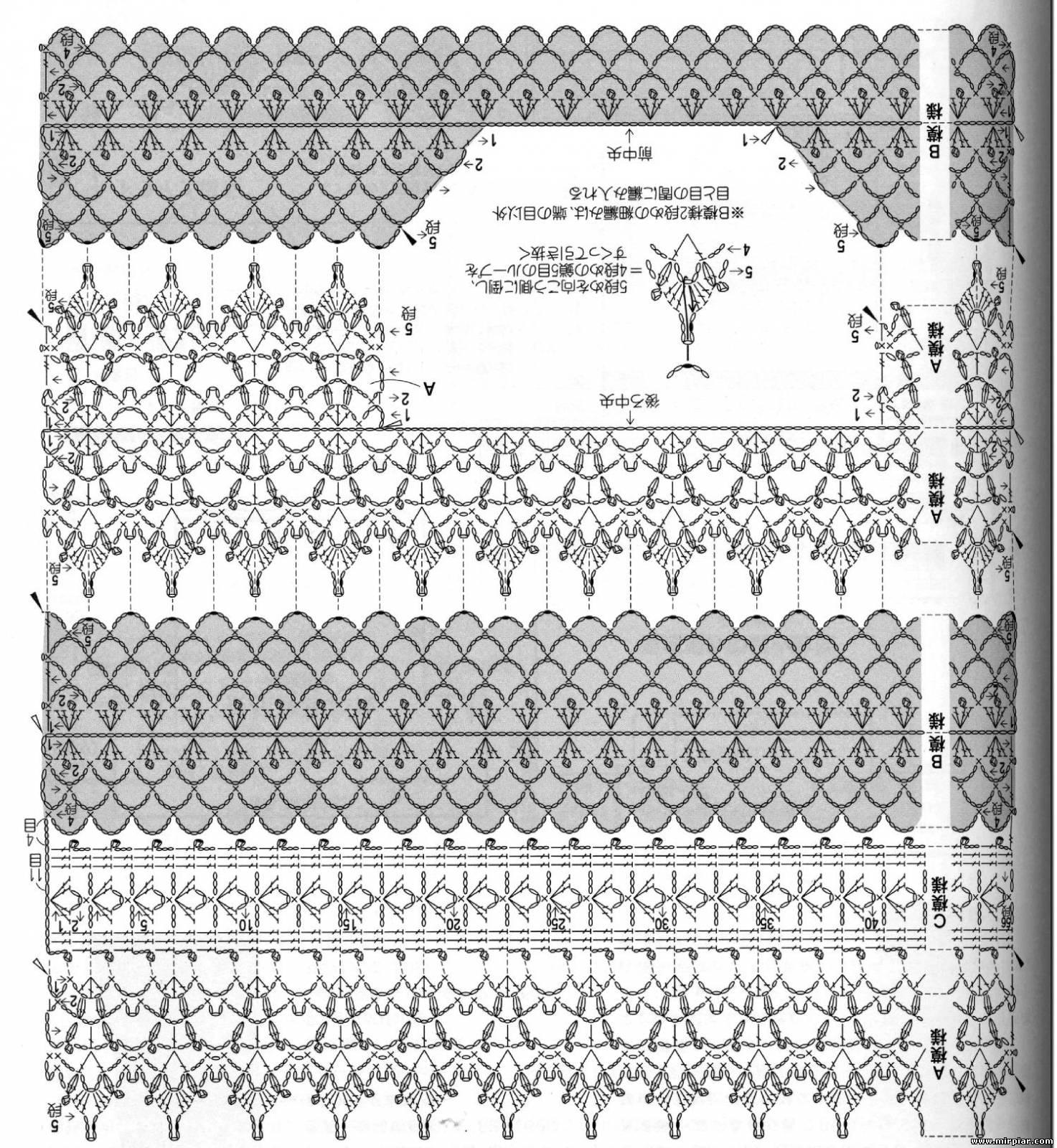 Стильное вязание: вязание крючком, модели вязания