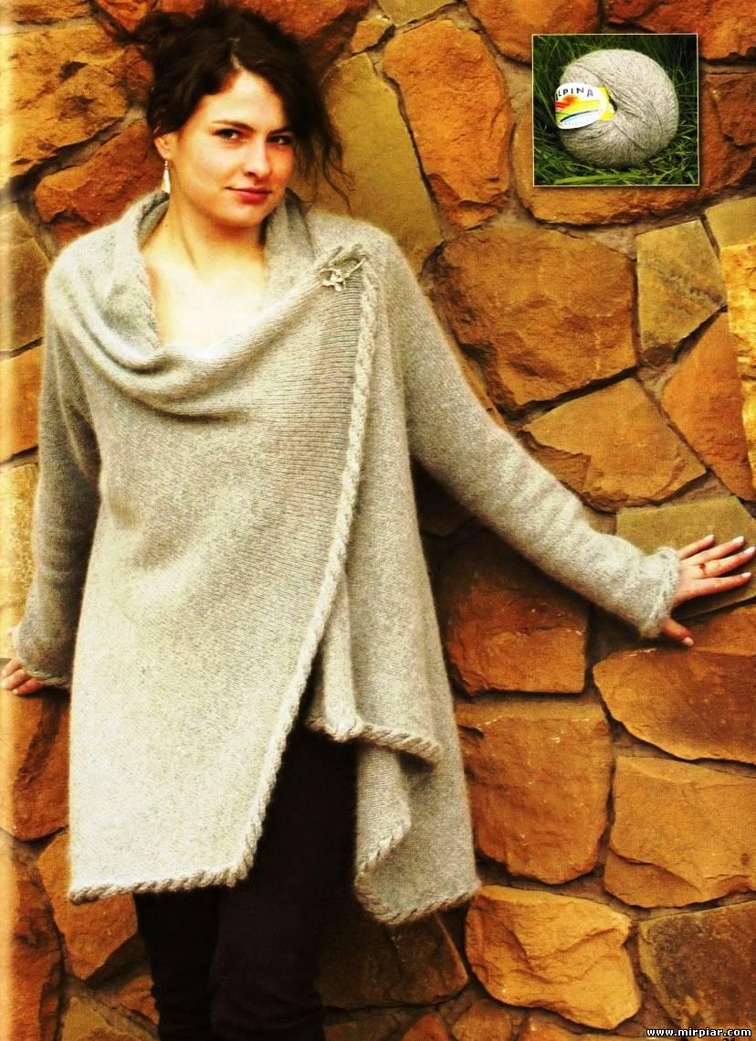 вязанные кофты из ангоры, в том числе модели платьев из крепдышина и шифона, летняя блуза. 4 марта 2012
