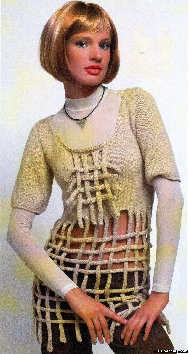 Вязанные кофточки мохер спицами