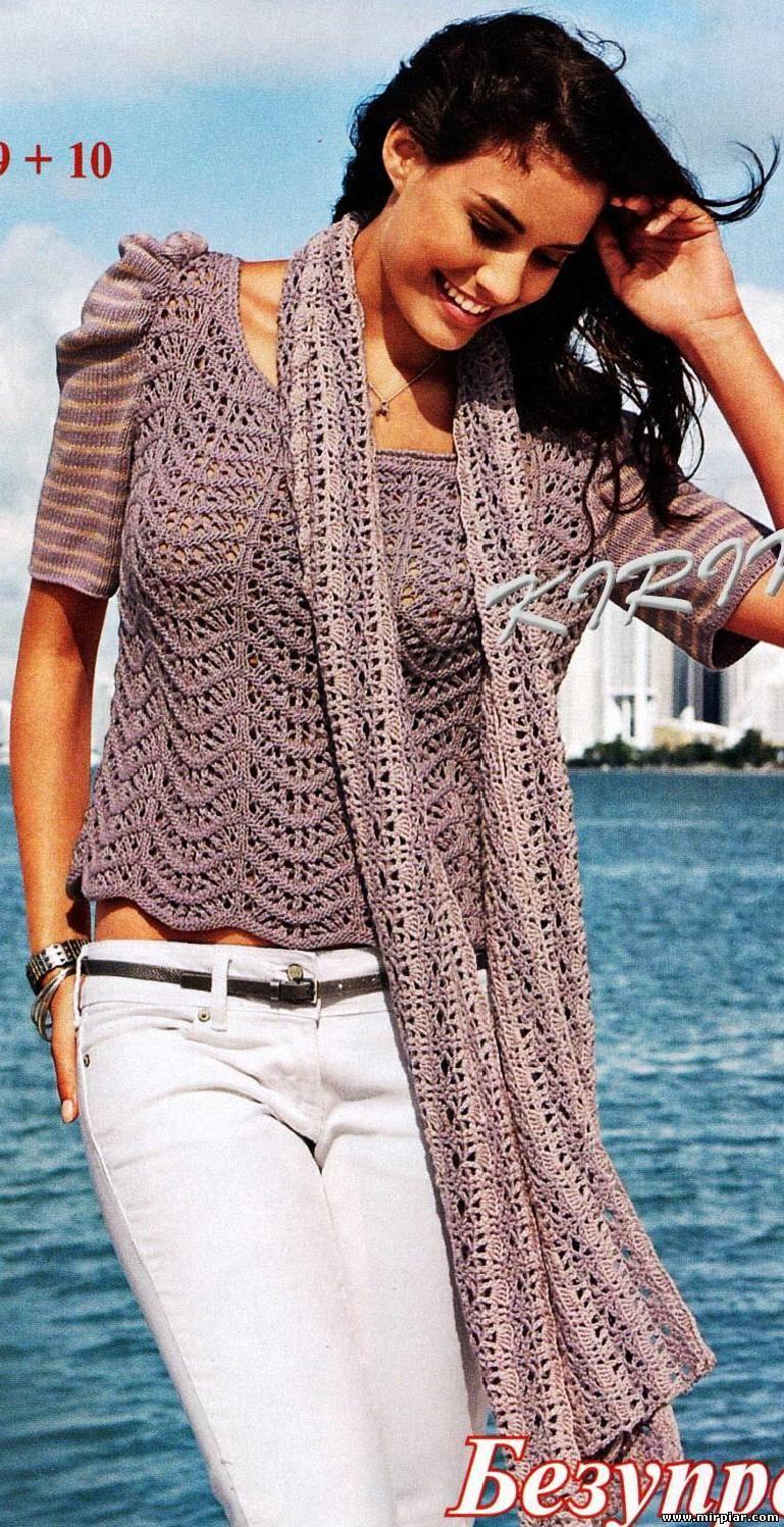 Модели вязания из журнала вязание наше хобб 46