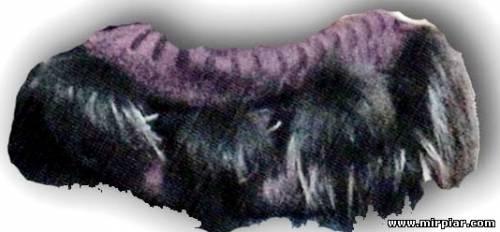 Модные меховые аксессуары своими руками 3