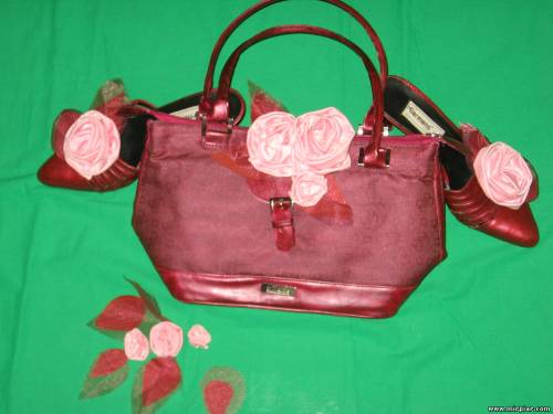 Переделка сумки и туфель 5