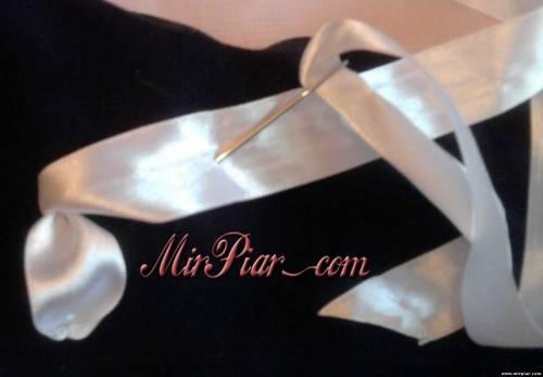 украшение вышивка лентами