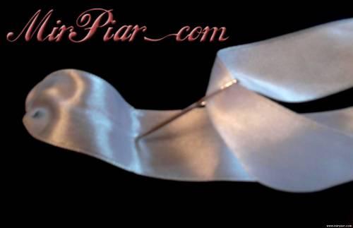 вышивка лентами украшение сапог