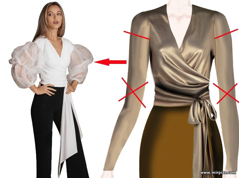как сделать модную выкройку