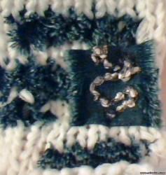 ткань и вязание, декорирование,Вязание с джинсом