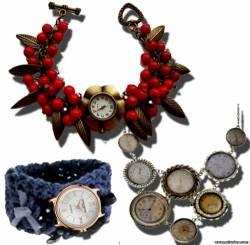 Переделка украшения из часов своими руками