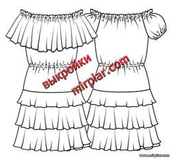 шитье, ПЛАТЬЯ, free pattern, выкройки платьев, выкройки бесплатно