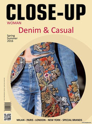 Close-Up Denim&Casual, переделка джинс, идеи дизайнеров, украшение оде