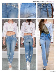 Close-Up Denim&Casual, идеи дизайнеров, украшение одежды, переделка
