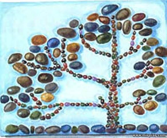Рисунки и поделки из камней 71