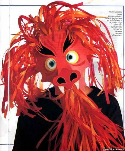 маска Дракона Новый год 2012