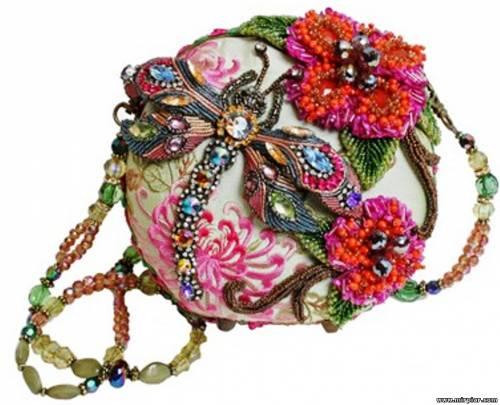 декорируем старую сумку - Джинсы.
