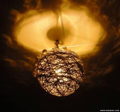 Изготовление люстры или светильника