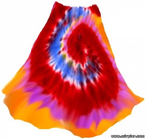 переделка одежды, узелковый батик