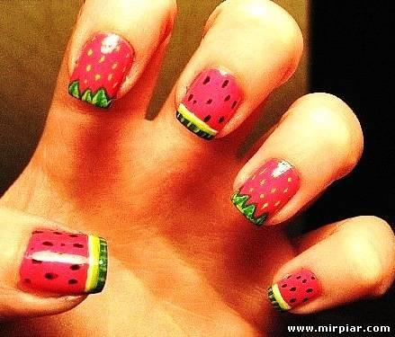 Красивые ногти своими руками для детей