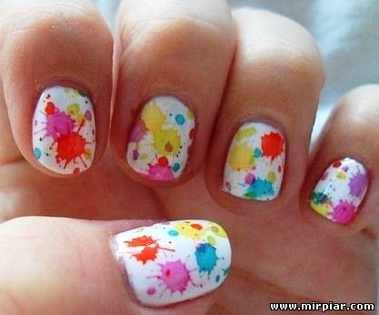 Дизайн ногтей дома своими руками на короткие ногти