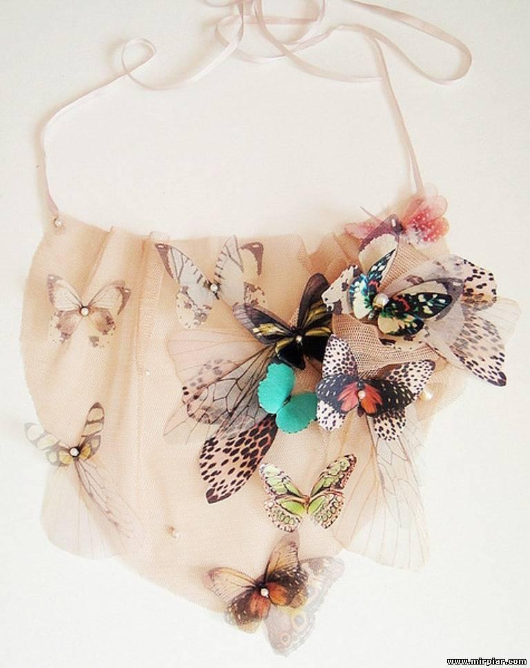 Украшения с бабочками своими руками
